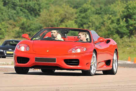 Buyagift - Ferrari driving thrill experience with a high speed passenger ride - Save 0%