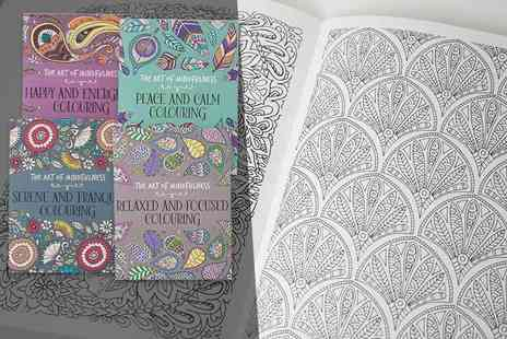 Price Cut Books - Art of mindfulness four book colouring collection - Save 68%