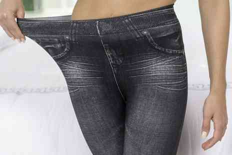 Wowcher Direct - Pack of three thane slim n lift jeggings - Save 74%