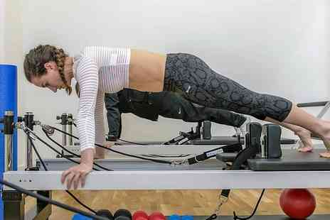 SW1 Fitness - One, Five or Ten Semi Private Reformer Pilates or Reformer  HIIT Classes - Save 46%