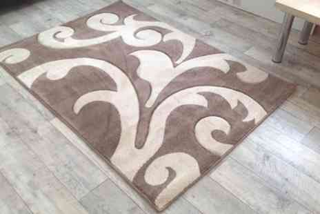 Groupon Goods Global GmbH - Hand Carved Floor Rug - Save 57%