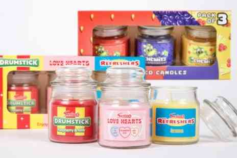 Groupon Goods Global GmbH - Three, Six or 12 Swizzels Sweet Shop Candle Jars - Save 58%