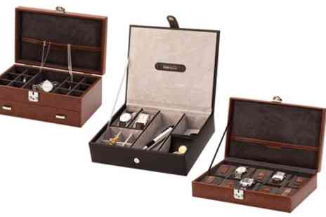 Groupon Goods Global GmbH - Mens Watch Box or Organiser - Save 0%