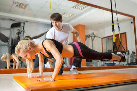 Time For Results - Three personal training sessions - Save 86%