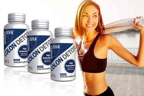 Skinny Diva - Three month supply of colon detox capsules - Save 81%