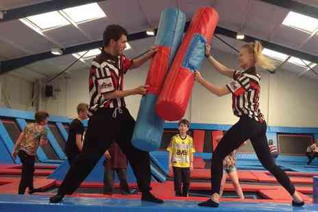 Into the Blue - Trampolines and Free Jumping Session - Save 33%