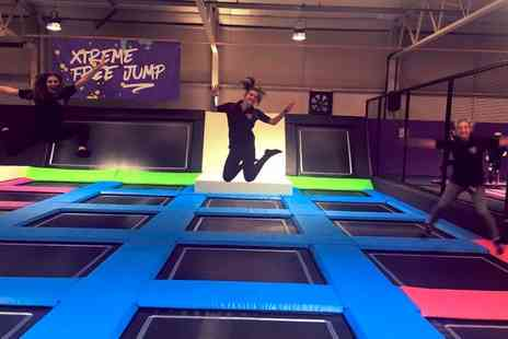 Xtreme 360 - One Hour Trampoline Park Access for Up to Four - Save 25%
