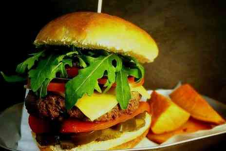 Dale Street Eatery - Build your own Burger for one or two - Save 33%