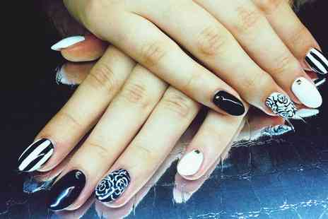 Hearts Beauty - Manicure and Pedicure - Save 68%