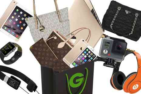 Groupon Goods Global GmbH - Bag of Swag Mystery Gift With Chance to Get Gold Macbook, iPhone 6S, LV Prada Miu Miu Bag or Apple Watch - Save 0%