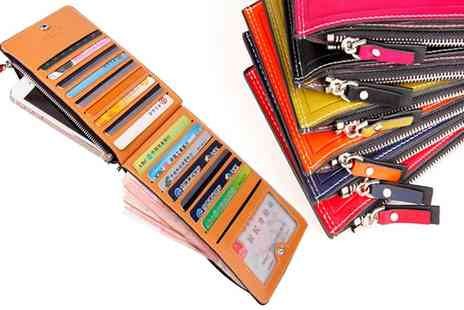 Groupon Goods Global GmbH - Card Holder Zip Wallet in Choice of Colours  - Save 0%