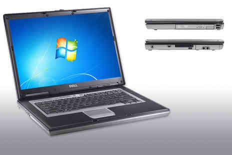 CRS - Grade B refurbished Dell Latitude Laptop D series 14 Inch Screen 80GB HD Windows 7 - Save 70%