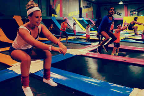 Bounce Revolution Derby - One hour of indoor trampolining - Save 58%