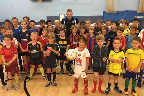 Cambridge United FC - Summer Soccer School for Kids Up to Five Days - Save 30%