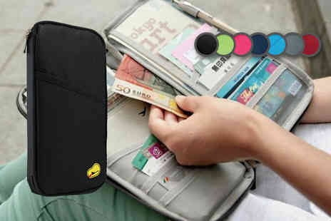 Fakurma - Passport and document travel organiser - Save 90%