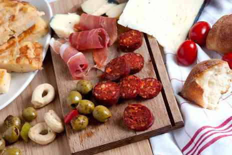 The Tunnels - Choice of 6 or 12 Tapas and Prosecco for Two or Four - Save 65%