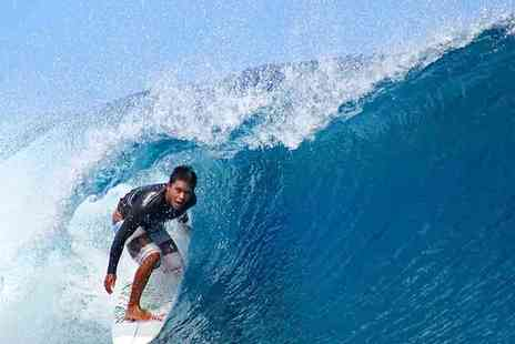 Quiksilver Surf School Newquay - Introductory Surf Lesson for One or Two - Save 50%