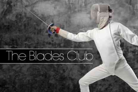 The Blades Club - Two Hour Fencing Taster Class for £8 - Save 60%