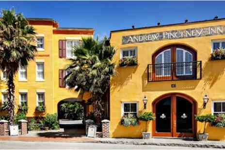 The Andrew Pinckney Inn - Last Minute Charleston Stay, Historic B&B with Valet - Save 0%