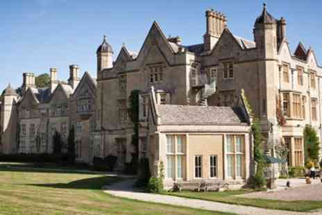 Dumbleton Hall Hotel - Cotswolds Manor Stay with Dinner & Drinks - Save 0%