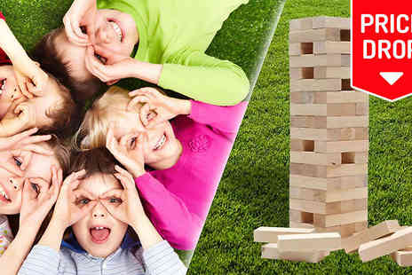 Estore London - Giant Tumble Tower Garden Game - Save 0%