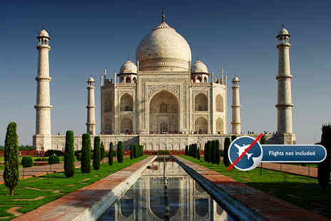 GeTS Holidays - Eight day India tour including accommodation, transfers, breakfast and excursions with an English speaking guide - Save 50%