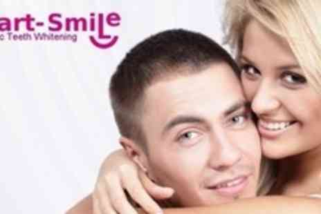 Smart Smile - Laser Teeth Whitening For Two - Save 83%