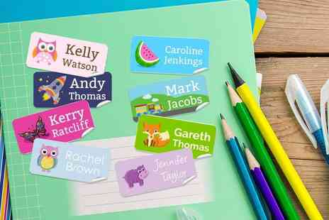 Eastmon Online - 42 kids personalised labels - Save 65%
