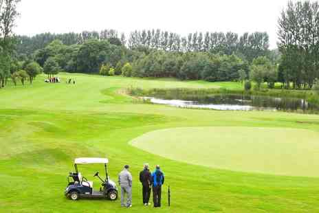 Hilton Belfast Templepatrick - 18 Holes of Golf with Buggy Hire for Two or Four - Save 53%