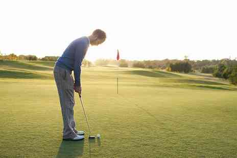 West Lothian Golf Club - 18 Hole Golf with Bacon Roll and Tea or Coffee for Up to Four - Save 60%