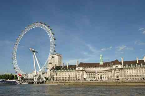 Hospitality Line - One Person Hop on Hop off TRS River Cruise and London Dining Card Ticket - Save 23%