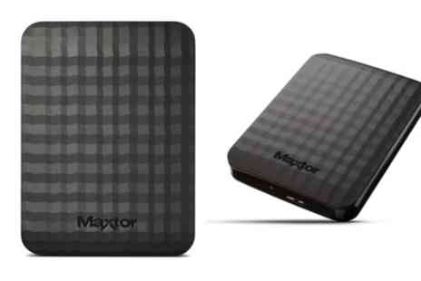 Groupon Goods Global GmbH - Seagate Maxtor M3 Portable External Hard Drive 500GB To 4TB With Free Delivery - Save 0%