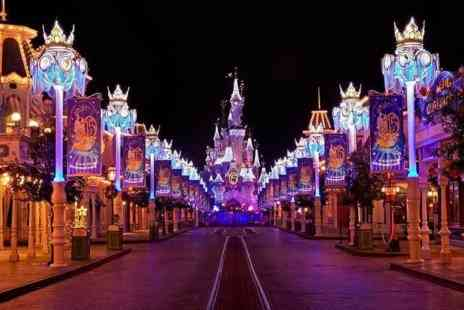 Tour Center - Two tickets for Disneyland Paris for Two or Three nights With Flights - Save 47%