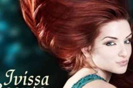 Ivissa Beaute - Restyle With Full Head of Colour, Highlights, or Regrowth Plus GHD Curls or Straightening - Save 79%