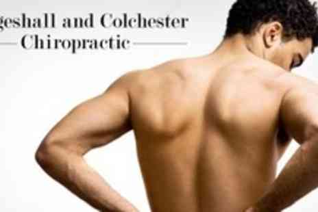 Coggeshall and Colchester - Full Consultation With Spinal Analysis, Two Chiropractic Treatments and Two Soft Tissue Massages - Save 73%
