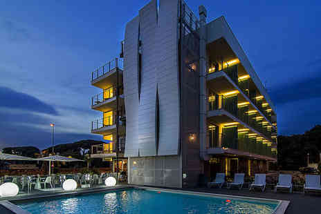 Uappala Hotel Viareggio - Four star Seven nights Stay in a Standard Double Room - Save 67%