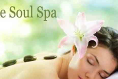 The Soul Spa - Choice of One Hour Massage With Luxury Facial and Shiatsu Head Massage - Save 76%