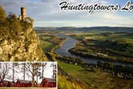 Huntingtower Lodges - Two Night Self Catering Stay For Two in Perth - Save 60%
