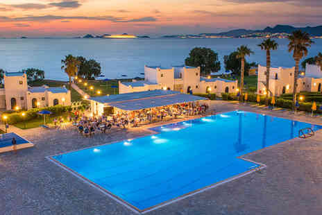 Aeolos Beach Hotel - Four Star 14 nights Stay in a Bungalow with Sea Front View - Save 48%