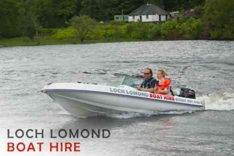 Loch Lomond Boat Hire - Two Hours Boating on Loch Lomond for £36 - Save 55%