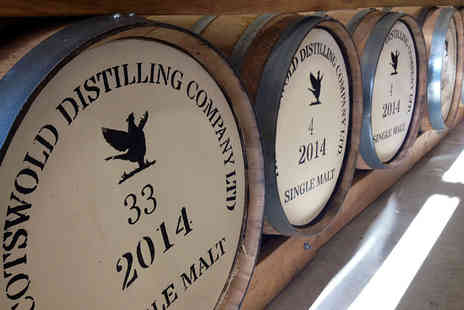Cotswolds Distillery - Gin and whisky distillery tour for two including a tasting session - Save 55%