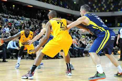 London Lions - London Lions v Bristol Flyers Premium or Family Ticket, The Copper Box Arena On 2 October - Save 53%