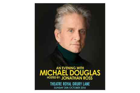 Charlie Sheen Live - An Evening with Michael Douglas on 30 October - Save 0%