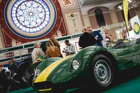 Classic & Sports Car Show - The Classic & Sports Car Show on 28 To 30 October at 1 p.m. - Save 0%