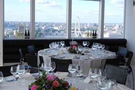 Altitude 360 - Ultimate VIP Brunch In The Sky with Drinks and Panoramic Views of London for One or Two - Save 37%