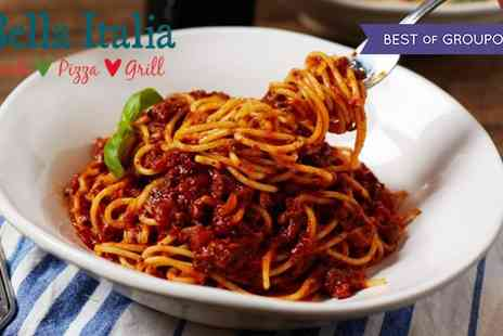 Bella Italia - Two or Three Course Meal with Drinks for Up to Six - Save 55%