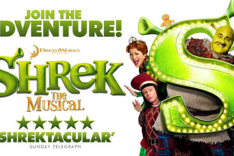 See Tickets - See the smash-hit Shrek The Musical in the West End for £35 - Save 46%