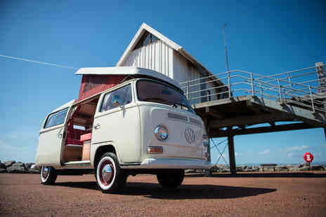 Nostalgic Campers - Three night weekend or four night midweek VW campervan hire for up to four - Save 45%