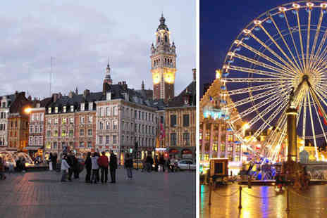 AA Getaways - £199pp for 3 nights in central Lille with 4* hotel, breakfast and return Eurostar - Save 48%