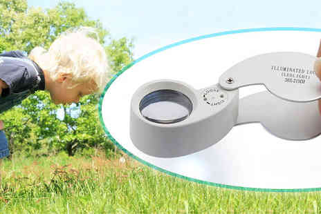 Xpress Buyer - Foldable Magnifying Glass with LED Light - Save 0%